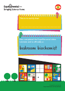 Bedroom Biochemist Certificate Template