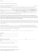 Credit Services Organization Bond - U.s. Department Of State