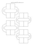 4.5 And 3.5 Cm Diameter Pom Pom Maker Template