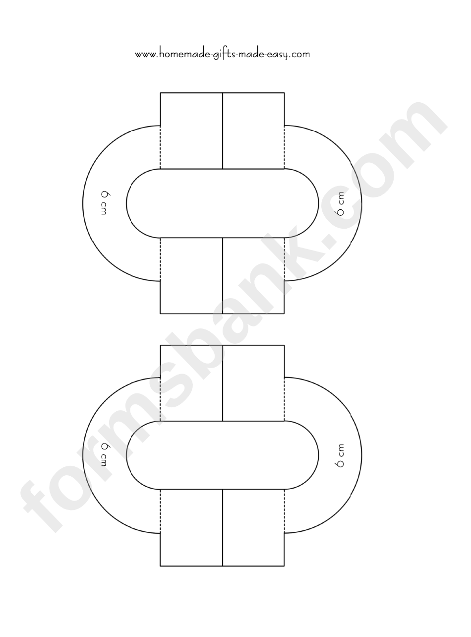 6 Cm Diameter Pom Pom Maker Template Printable Pdf Download
