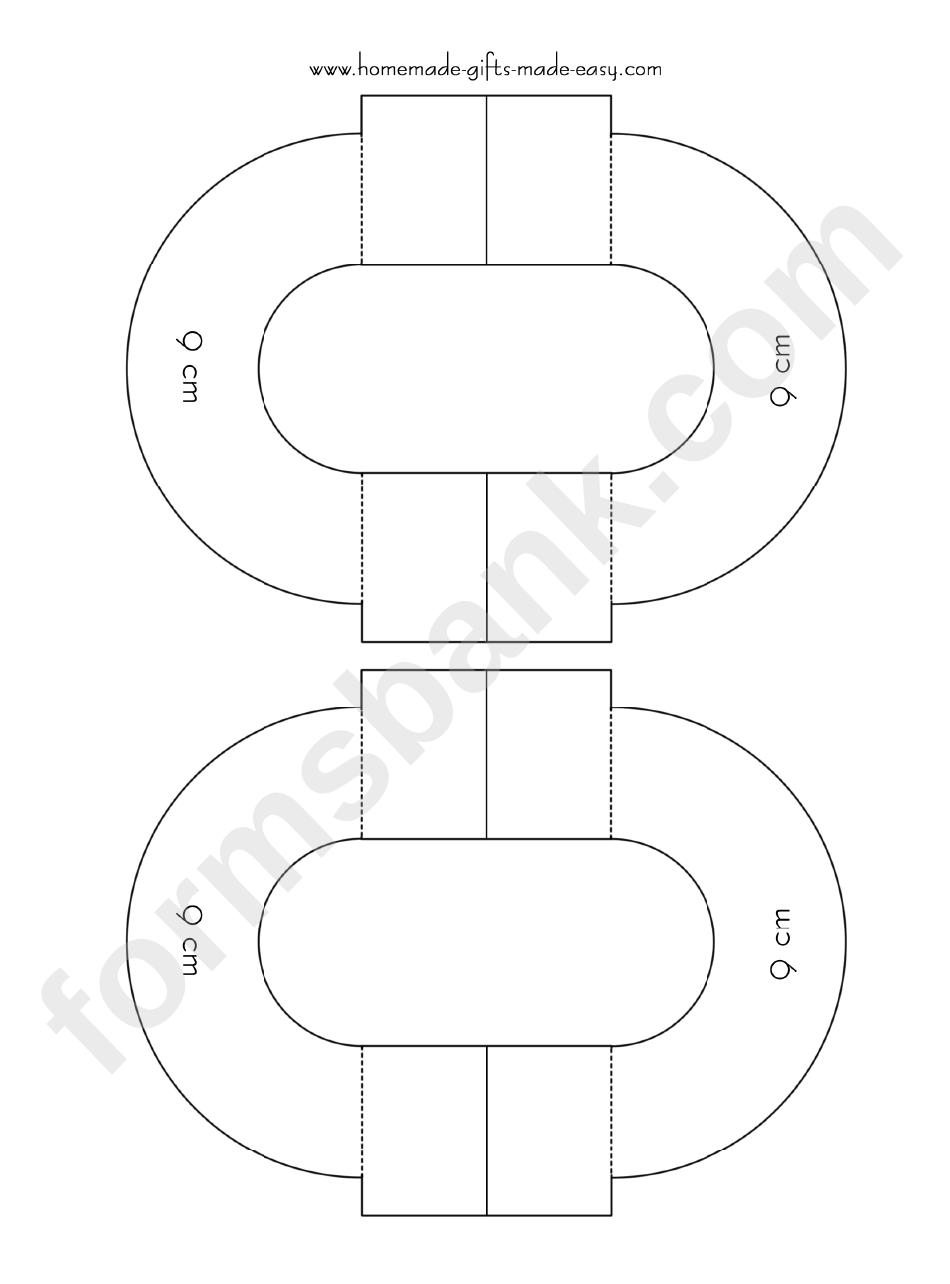 9 Cm Diameter Pom Pom Maker Template Printable Pdf Download