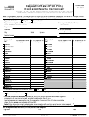Form 8508 - Request For Waiver From Filing Information Returns Electronically