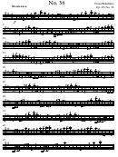 Franz Wohlfahrt - Etude Op. 45, No. 36