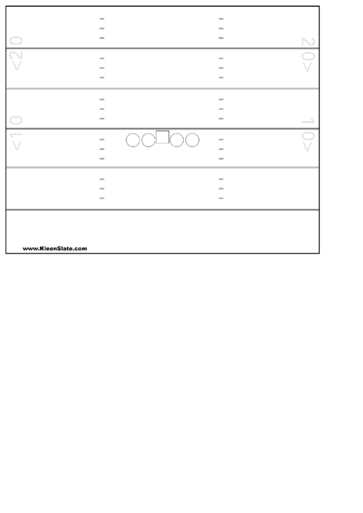 Football Play Sheet Template