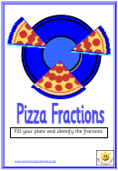 Pizza Fractions Poster Template