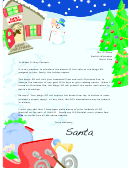 Santa's Workshop Writing Paper