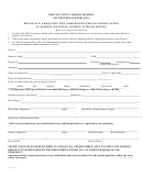 Form 11970262.1 - Physician's Request For Administration Of Medication In School Building During School Hours - Dekalb County School District