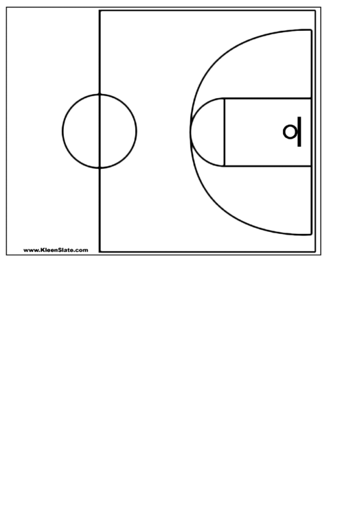 top 6 basketball court templates free to download in pdf format