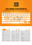 Adobe Illustrator Keyboard Shortcuts Cheat Sheet
