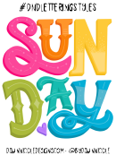 Six Styles Sunday Poster Template