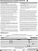 Form 3519 - Pago Por La Extension Automatica Para Individuos - 2016