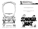 Scavenger Hunt Activity Sheet Set