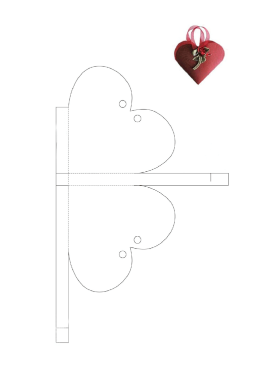 Valentine's Day Gift Box Template