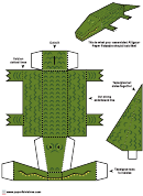 Alligator Foldable Template