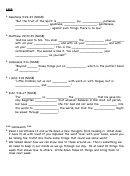 Holy Bible Worksheet - Love - With Answers