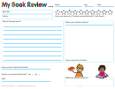 My Book Review (us Version) Template