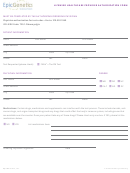 Licensed Healthcare Provider Authorization Form
