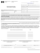 Form Csc/scc 0653-01e - Visiting Application Child Safety Waiver