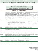 Instructions For Schedule Fit-167 - Vt Credit For Tax Paid To Other State Or Canadian Province For Fiduciaries