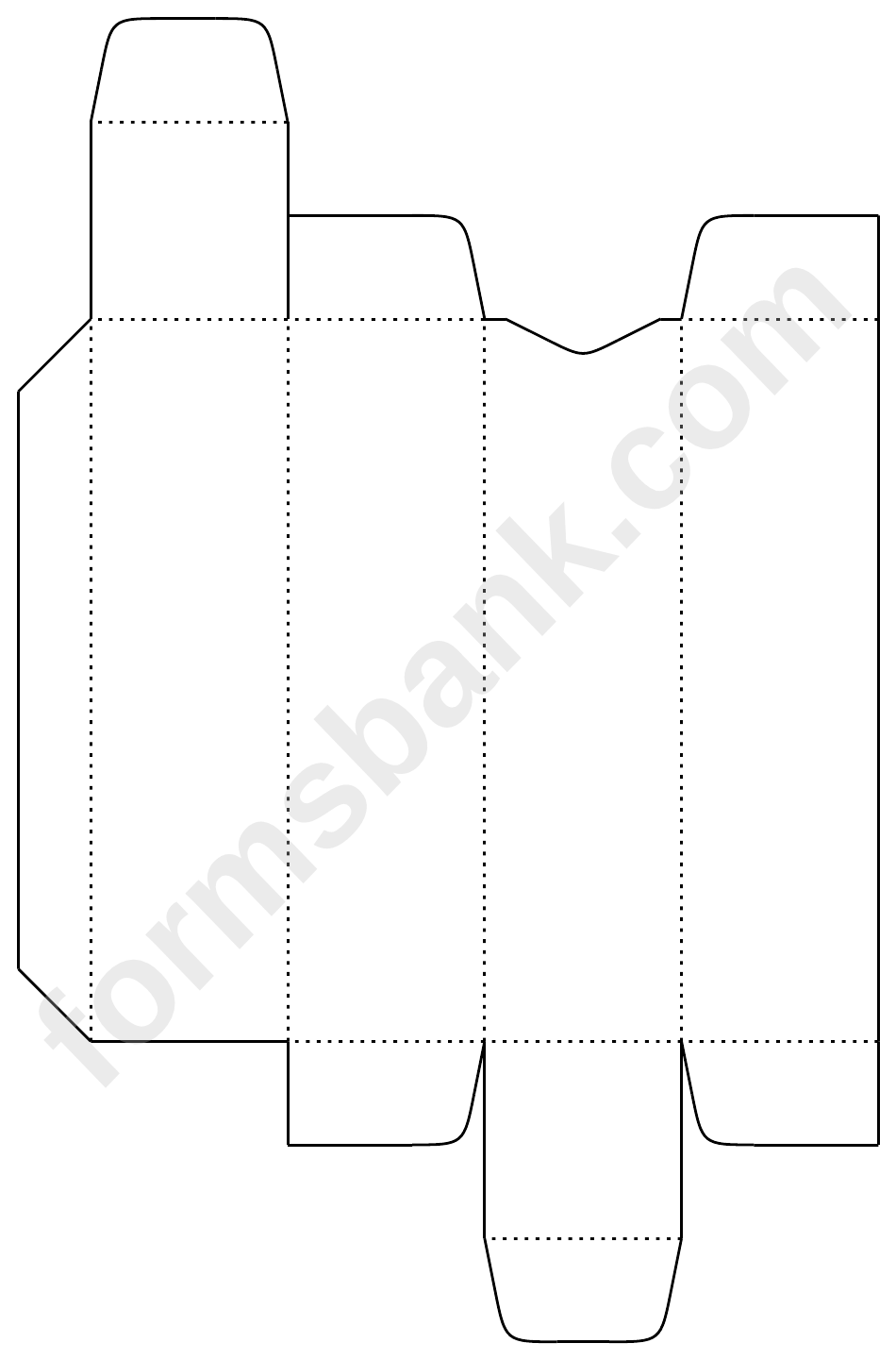 Lip Balm Box Template printable