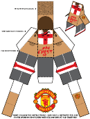 Manchester United Foldable Templates