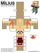 Marcus Milius Foldable Template