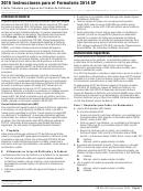 Instrucciones Para El Formulario 3514 Sp - Credito Tributario Por Ingreso Del Trabajo De California - 2016