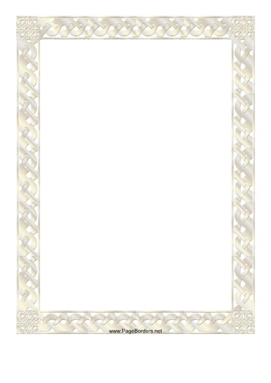 Certificate Border Printable pdf