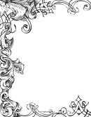 Fancy Page Border Template