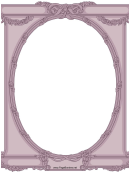 Ornate Oval Border