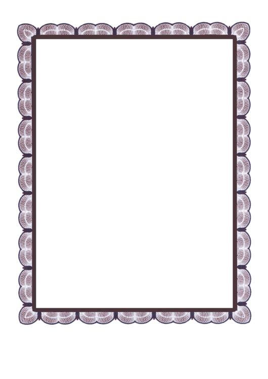 Magenta Lace Border Printable pdf