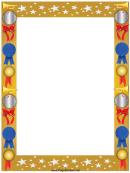 Award Page Border Template