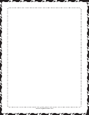 Dots Black And White Border