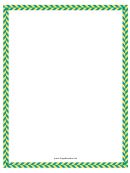 Green Yellow Diagonal Border