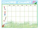 Gardening Chore Chart