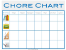 Weekly Class Chore Chart Template