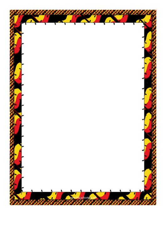 Zig Zag Border Printable pdf