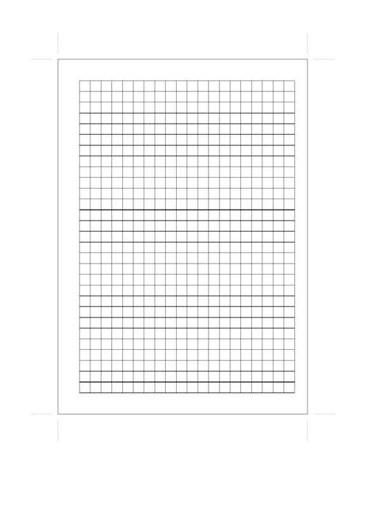 A5 Organizer Grid Page