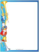 Horns Guitars Border