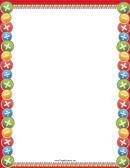 Colorful Arithmetic Border
