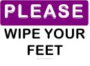 Please Wipe Your Feet