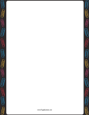 Paper Clip Page Border Templates