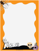Spider Web Page Border Templates