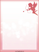 Cupid Page Border Templates