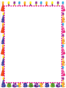Party Page Border Templates