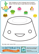 Kelp Cake Kids Activity Sheets