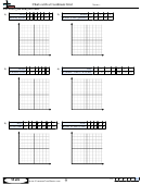 Charts With A Coordinate Grid Math Worksheets With Answer Key