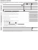 Form Ig255 - Nonadmitted Insurance Premium Tax Return For Direct Procured Insurance - 2012