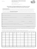 Form Ccl 027 - Authorization For Dispensing Medications To Children And Youth Long-term Medications (prescription And Non-prescription)