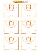 6 Blank Basketball Court Diagram Templates printable pdf ...